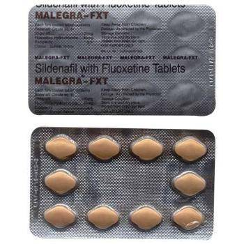 Malegra FXT (Silenafil + Fluoxetine)